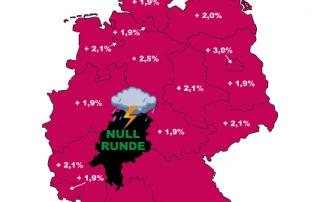 Hessen - ein schwarzer Fleck.