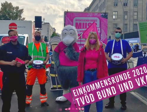 EKR 2020 – dbb Demonstriert in Berlin