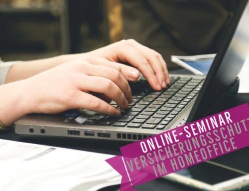 Online-Seminar: Versicherungsschutz im Homeoffice